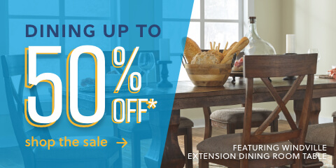 Dining up to 50% Off- Featuring Windville Expandable Dining Room Table
