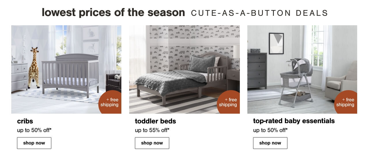 Cribs, Nursery Storage, Crib Mattresses