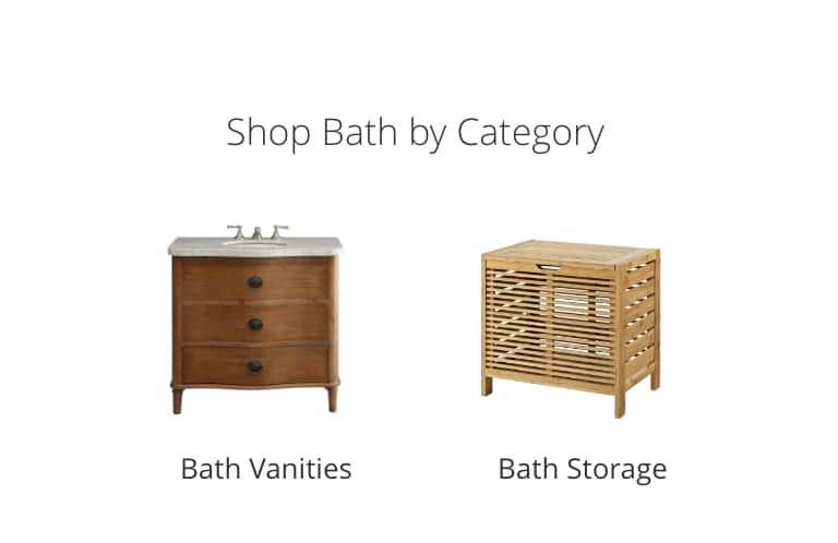 Bath Vanities, Bath Storage
