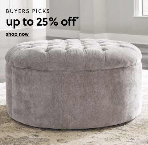 Buyers Pick up to 25% Off