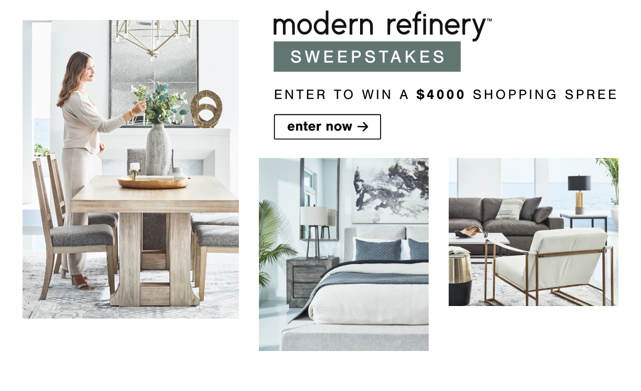 Modern Refinery Sweepstakes