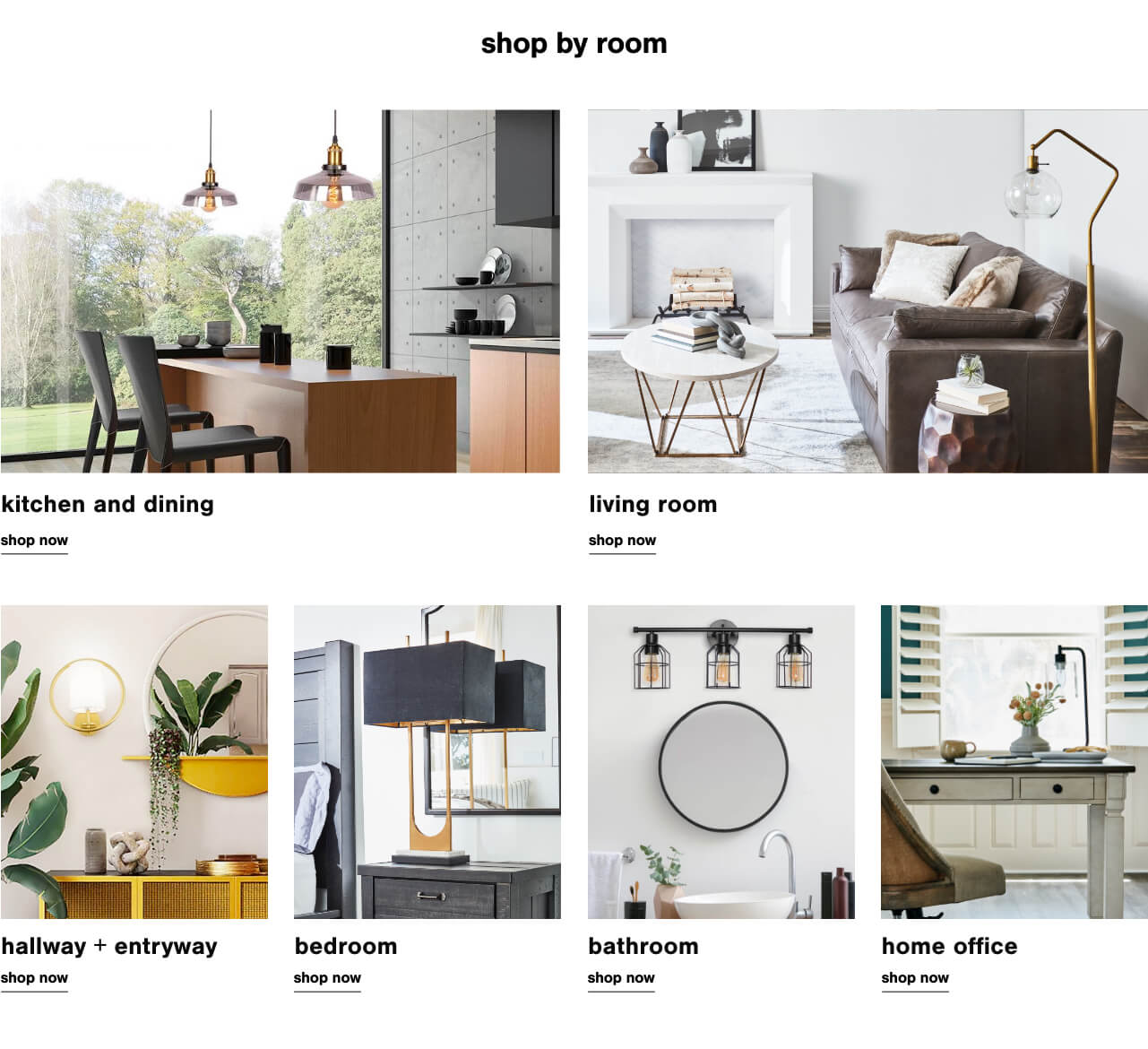 Lighting for Rooms