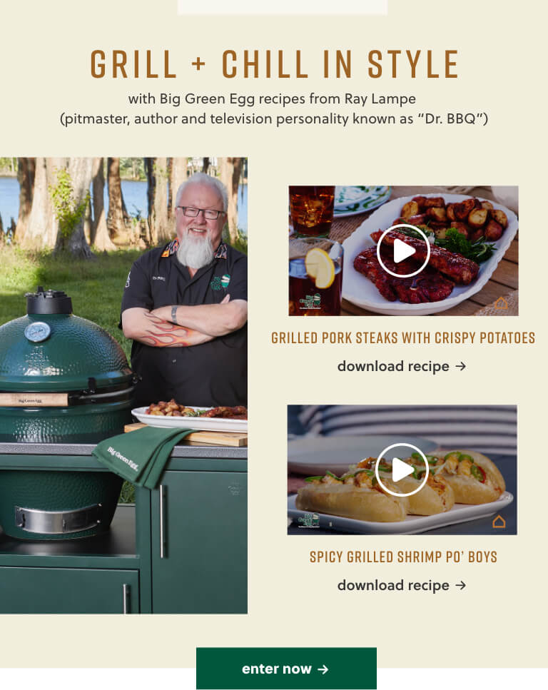 Big Green Egg Sweepstakes