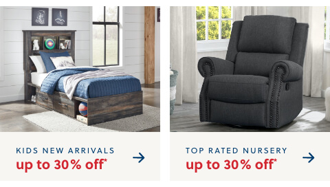 Top Rated Nursery Furniture up to 30% Off*, Kids New Arrivals up to 30% Off*