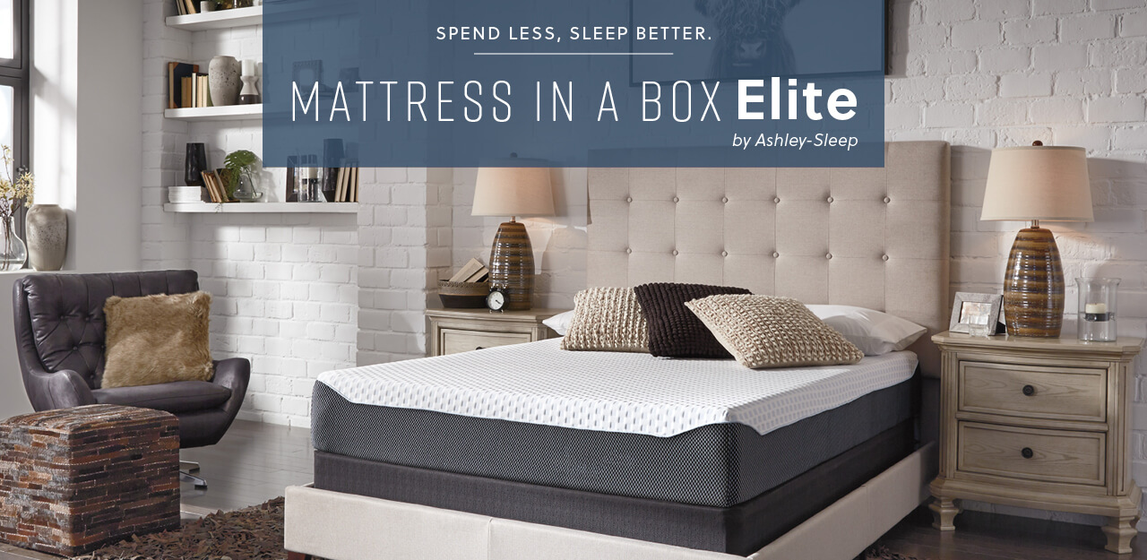 Mattress in a Box Elite by Ashley-Sleep