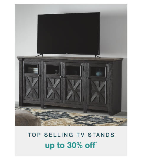 Top Selling TV Stands Up to 30% Off