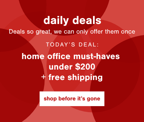 Home Office Must-Haves Under $200 + Free Shipping