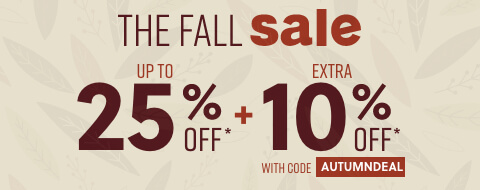 Fall Sale + Extra 10% Off