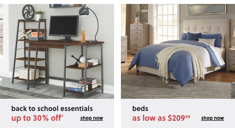 Home Office Back to School Essentials up to 30% Off*, HBeds as low as $209.99
