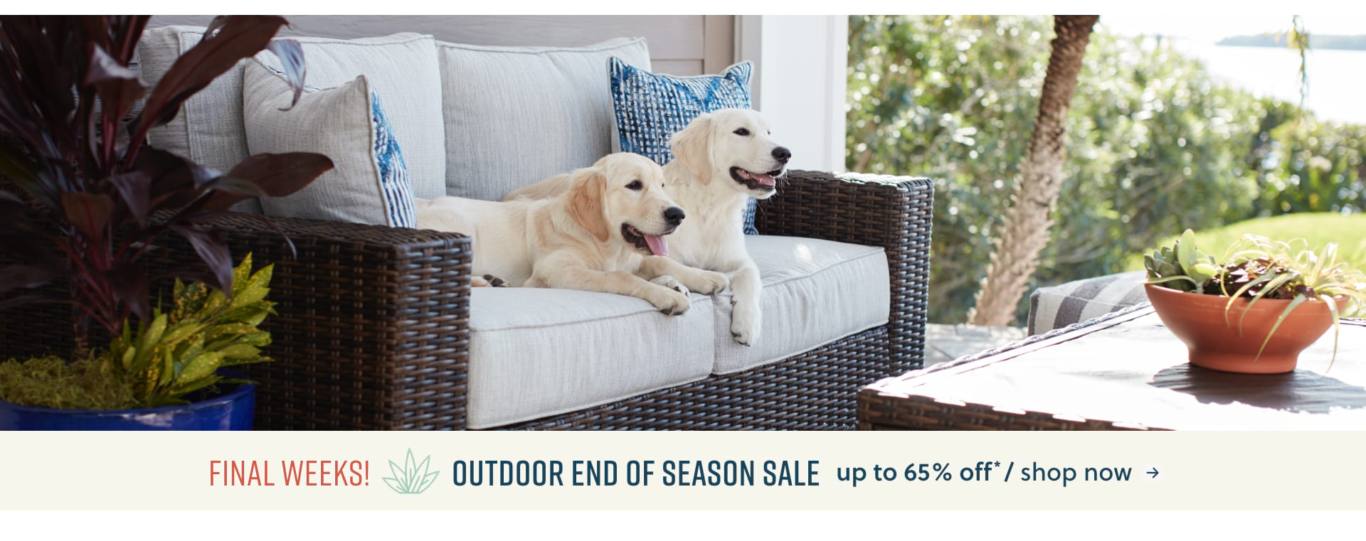 Outdoor Sale up to 65% off*