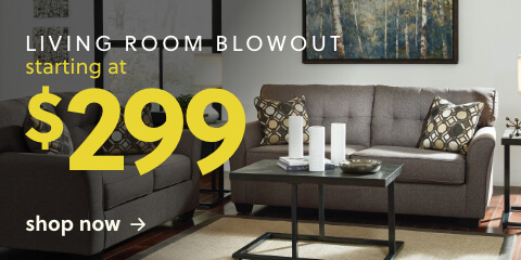 Living Room Blowout starting at $299