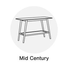 Mid Century Console Tables