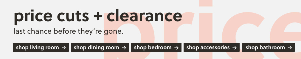 Price Cuts and Clearance