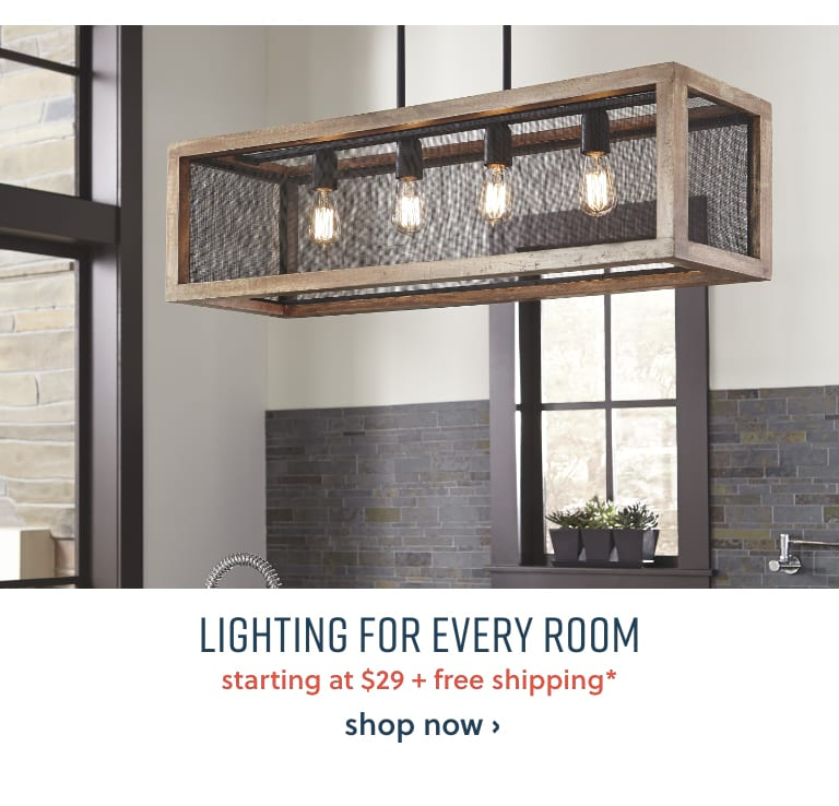 Lighting for every room