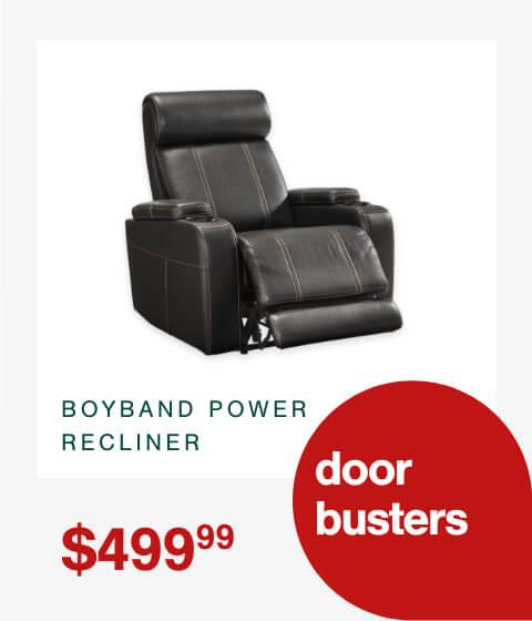 Boyband Power Recliner