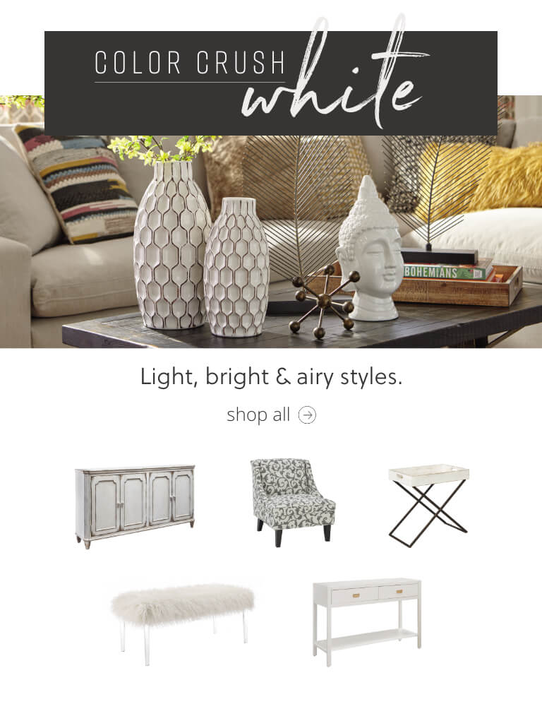 White Accent Furniture