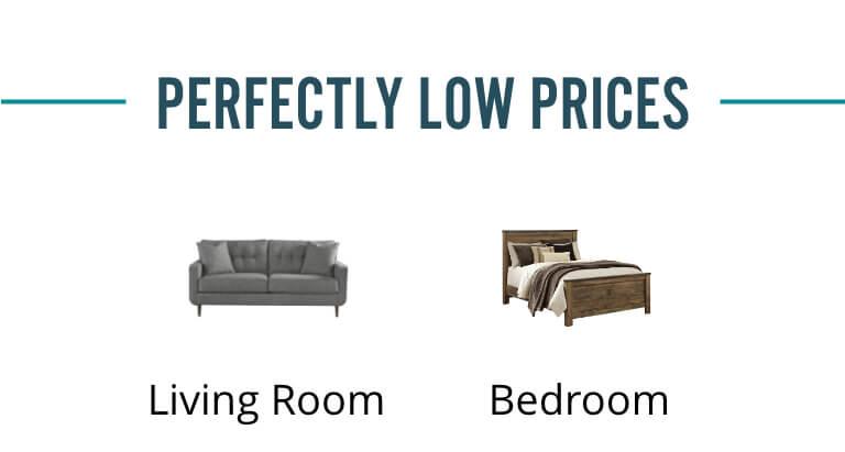 Living Room, Bedroom