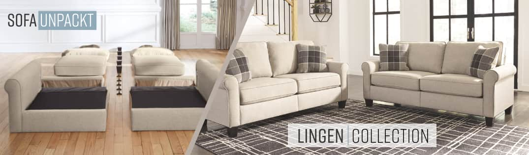 Sofa Unpackt Lingen Collection