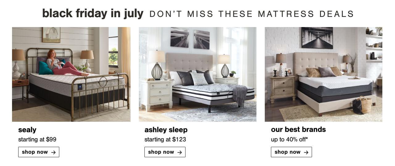 Ashley Sleep, Favorite Mattresses, Sealy Mattresses