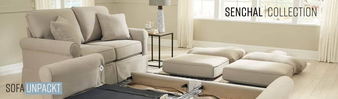 Sofa Unpackt Senchal Collection