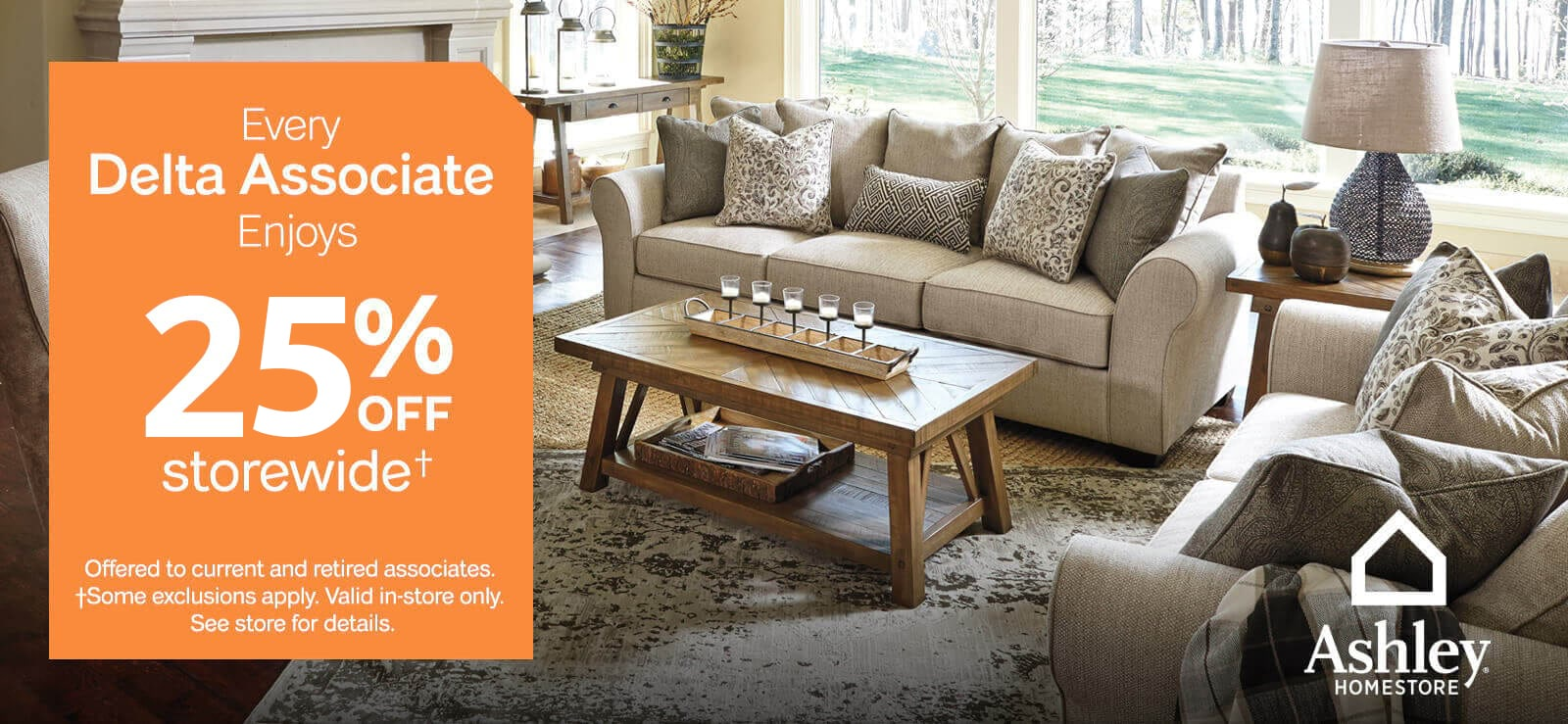 Ashley Home Partnership With Delta Furniture