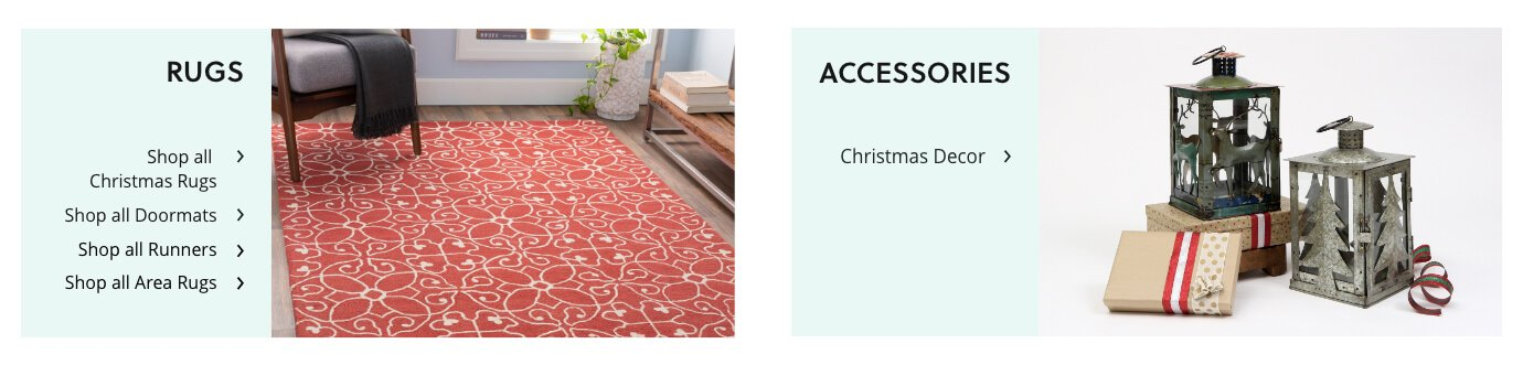 Holiday Rugs and home Decor