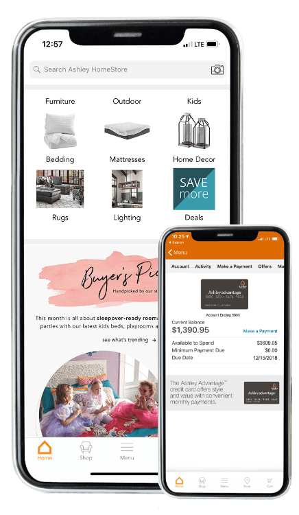 Ashley Homestore Mobile App