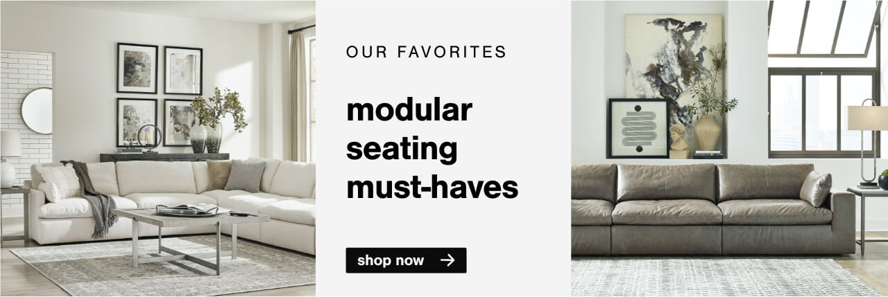 Our Favorites Modular Seating Must-Haves