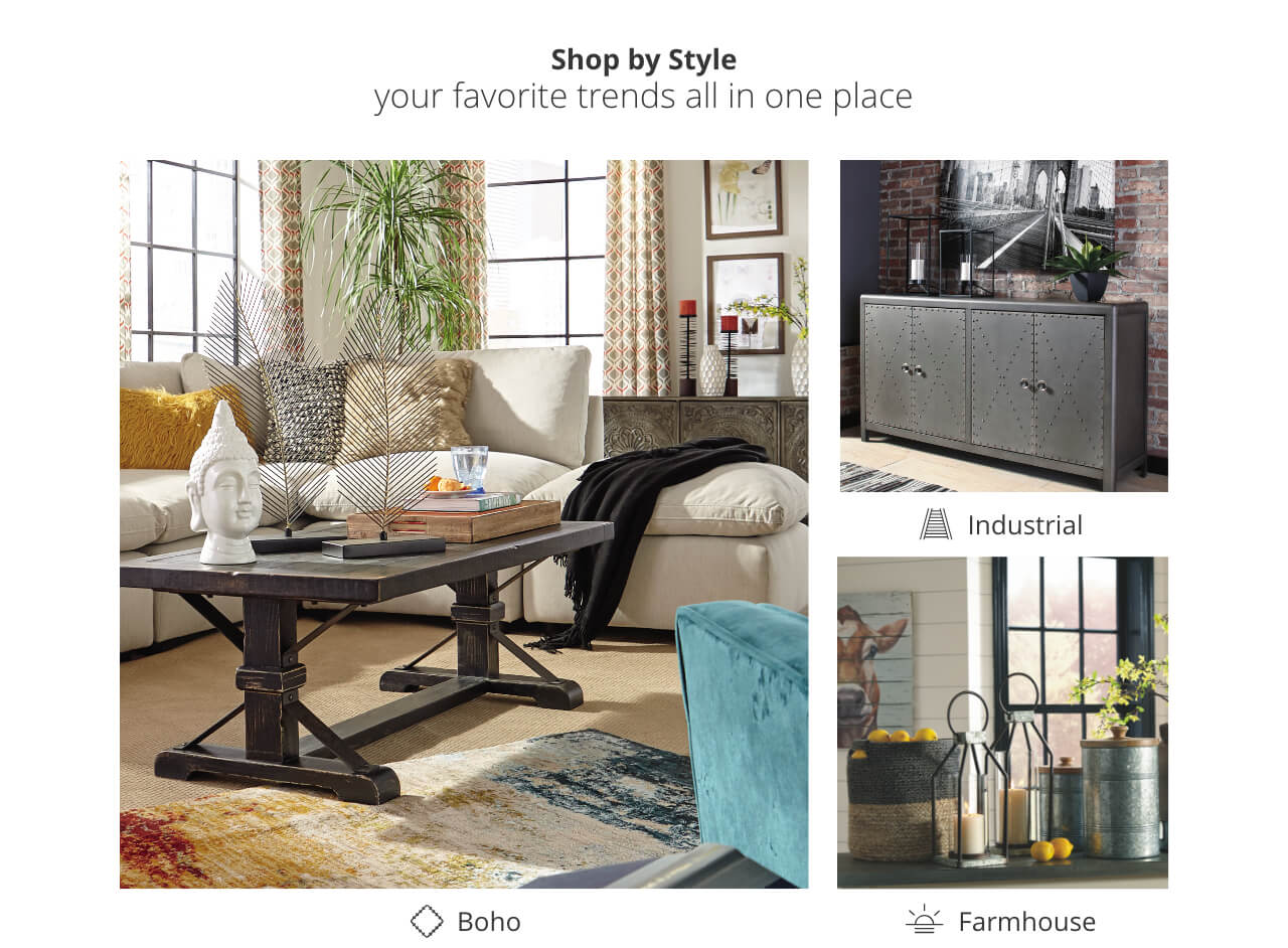 Home Decor | Bring Your Home to Life | Ashley Furniture HomeStore