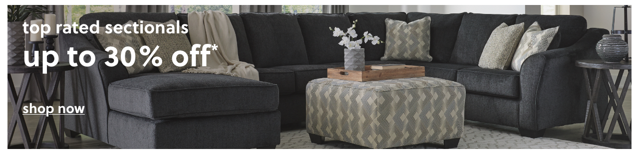 Top Rated Sectionals up to 30% Off*