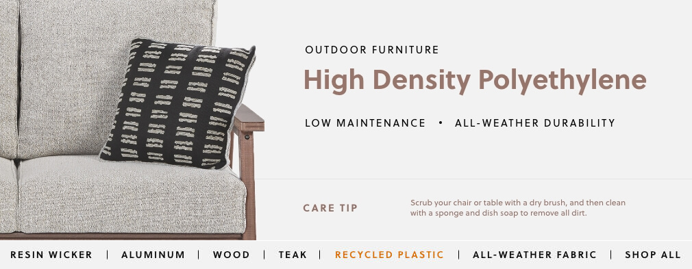 Recycled Plastic Outdoor Furniture | Ashley Furniture HomeStore
