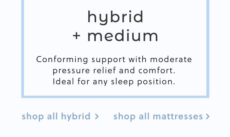Hybrid Medium Mattresses