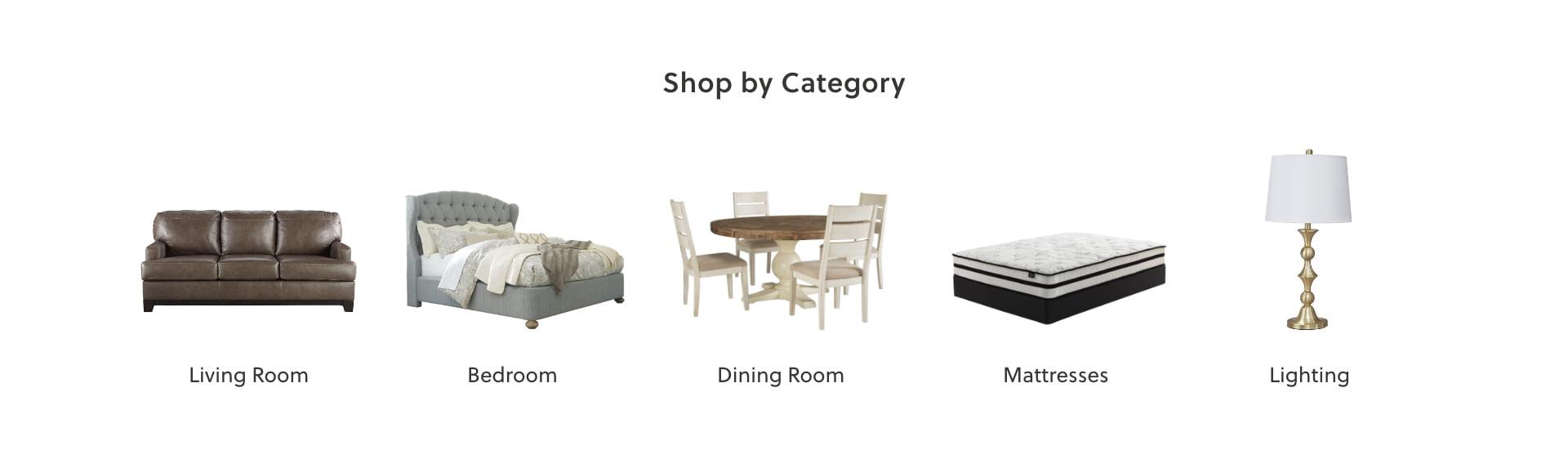 Living Room, Bedroom, Dining Room, Mattresses, Lighting