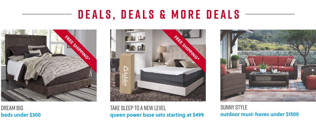 Beds under $300, Mattress Sets, Outdoor Furniture Deals