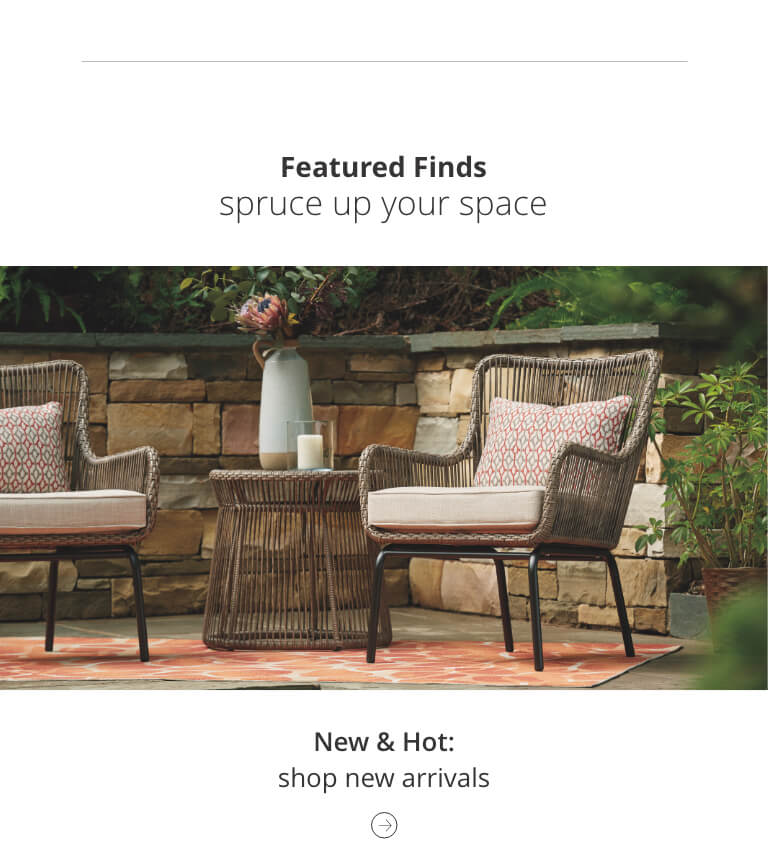 New Outdoor Furniture