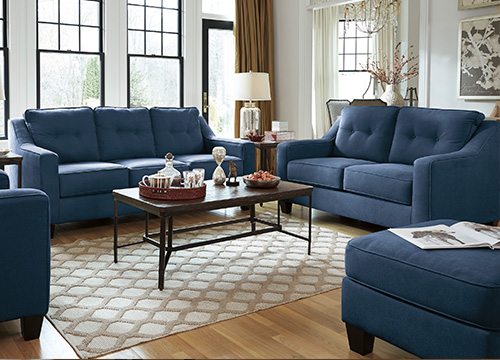 CUSTOMIZED UPHOLSTERY. Living Room Furniture   Ashley Furniture HomeStore