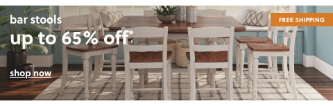 BARSTOOLS up to 65% off + Free Shipping