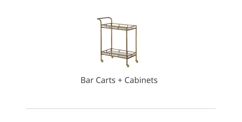Bar Carts and Cabinets