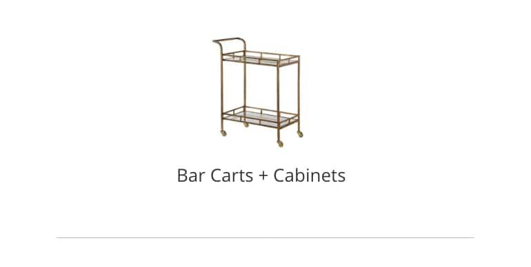 Bar Carts and Cabinets