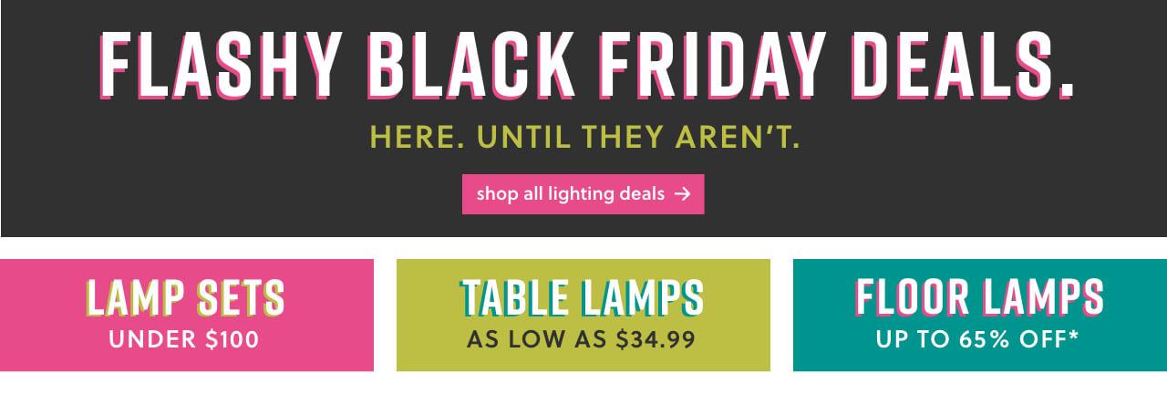 Lighting Room Black Friday Deals