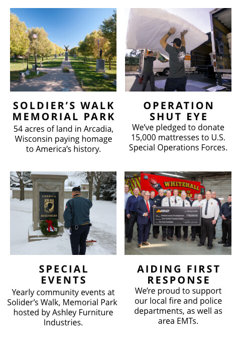 Soldier's Walk Memorial Park, Operation Shut Eye, Special Events, Aiding First Response
