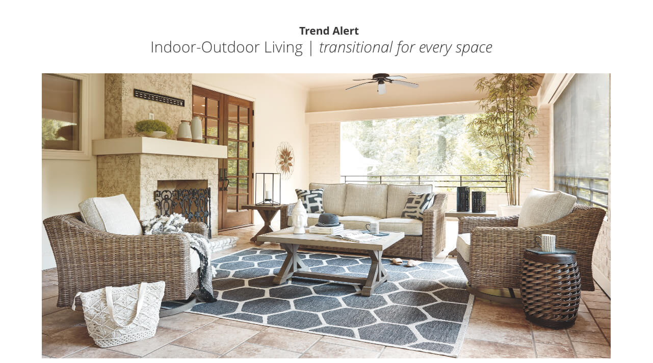 Indoor outdoor living transitional for every space