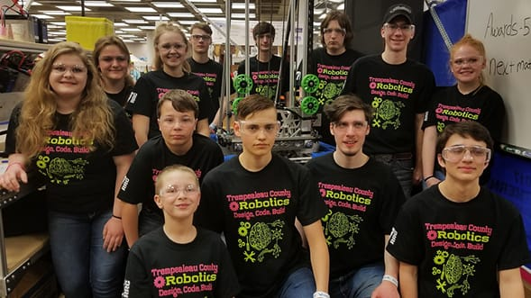 Local High School Robotics Team Battles Way to World Championship