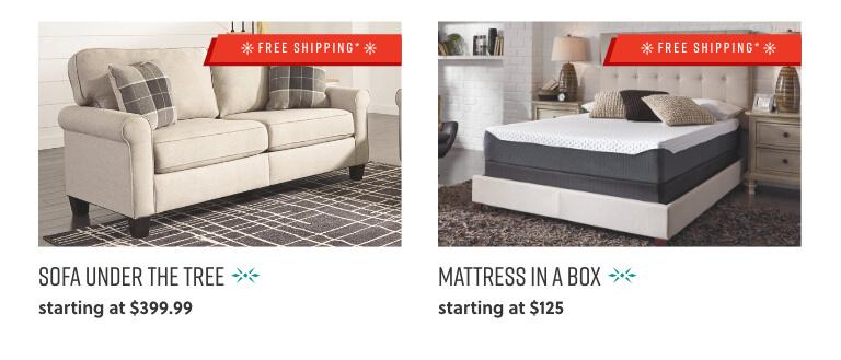 Sofas, Mattress in a Box