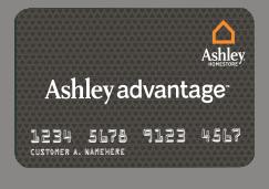 ashley advantage online financing