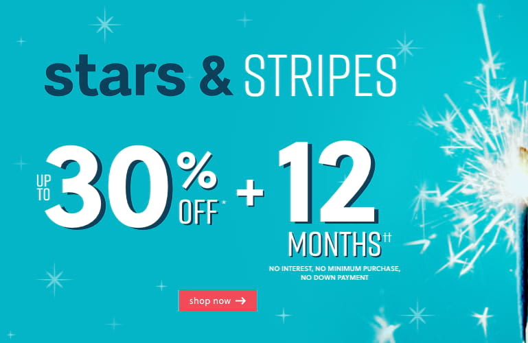Stars and Stripes up to 30% Off