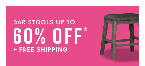 Bar Stools Up to 60% Off* + Free Shipping