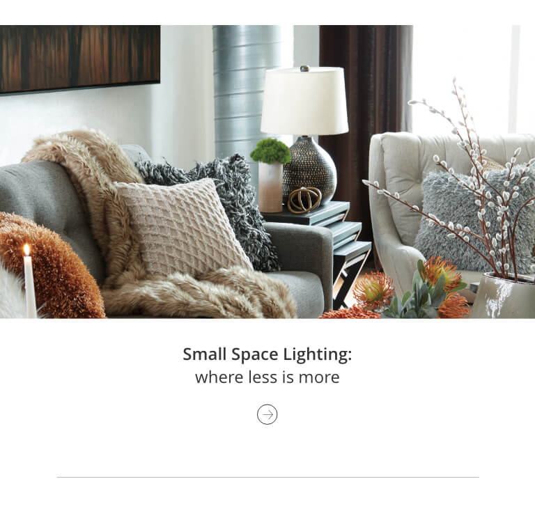 Small Space Lighting