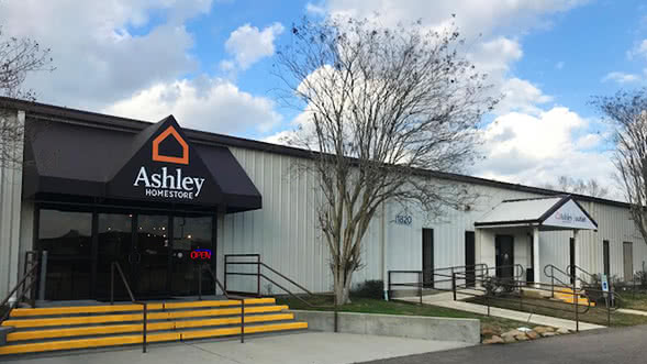 Denham Springs Louisiana Reopens Ashley Homestore And Ashley Outlet