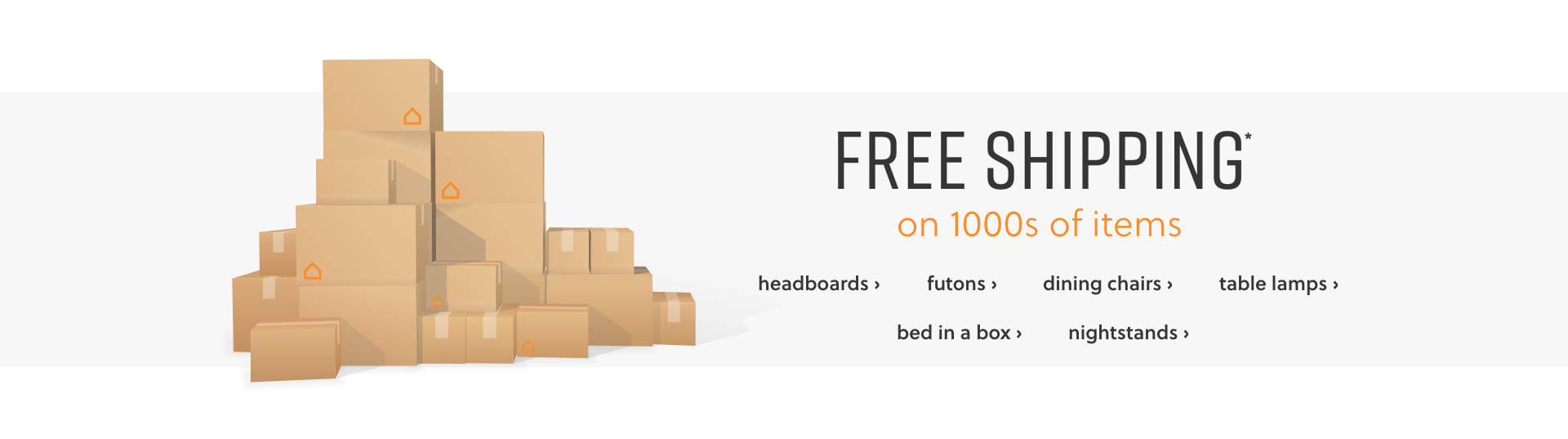Shop Free Shipping on Headboards, Futons, Dining Chairs. Table Lamps, Bed in a Box, and Nightstands